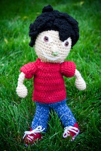 Crocheted Bob' Booger